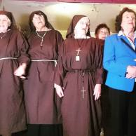 Choir as nuns - Kilburn 29th July 2015