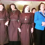Irish Pensioners Choir as part of Nuns Chorus - a ply by Sally Mulready