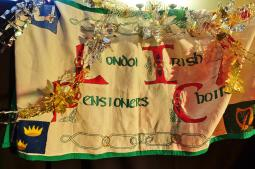Pensioners Choir banner