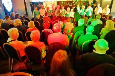 Pensioners choir